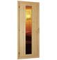 WOODFEELING Sauna »Svenja«, inkl. 9 kW Bio-Kombi-Saunaofen mit externer Steuerung für 3 Personen-Thumbnail