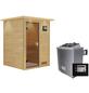WOODFEELING Sauna »Svenja«, mit Ofen, externe Steuerung-Thumbnail