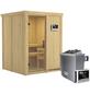 KARIBU Sauna »Tallinn« mit Ofen, externe Steuerung-Thumbnail