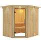 KARIBU Sauna »Talsen«, für 3 Personen ohne Ofen-Thumbnail