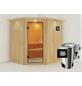 KARIBU Sauna »Talsen«, mit Ofen, externe Steuerung-Thumbnail