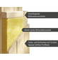 KARIBU Sauna »Tapa 1«, inkl. 9 kW Bio-Kombi-Saunaofen mit externer Steuerung für 3 Personen-Thumbnail