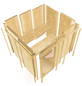 KARIBU Sauna »Tapa 1« mit Ofen, integrierte Steuerung-Thumbnail