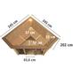 KARIBU Sauna »Tapa 2«, inkl. 9 kW Saunaofen mit integrierter Steuerung für 4 Personen-Thumbnail