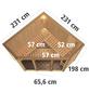 KARIBU Sauna »Tapa 2«, mit Ofen, externe Steuerung-Thumbnail