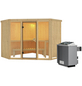 KARIBU Sauna »Tapa 2«, mit Ofen, integrierte Steuerung-Thumbnail