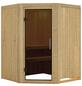 KARIBU Sauna »Tartu«, für 3 Personen ohne Ofen-Thumbnail