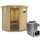 KARIBU Sauna »Tartu«, mit Ofen, externe Steuerung-Thumbnail