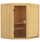 KARIBU Sauna »Tuckum«, für 3 Personen ohne Ofen-Thumbnail