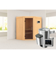 KARIBU Sauna »Tuckum« mit Ofen, externe Steuerung-Thumbnail