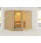 KARIBU Sauna »Türi«, für 4 Personen ohne Ofen-Thumbnail