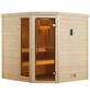 WEKA Sauna »Turku«, mit Ofen, integrierte Steuerung-Thumbnail