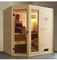WEKA Sauna »Valida Eck 1«, BxTxH: 189 x 139 x 203,5 cm, ohne Saunaofen-Thumbnail