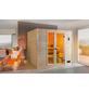 WEKA Sauna »VALIDA PLUS«, inkl. 9 kW Saunaofen mit integrierter Steuerung für 2 Personen-Thumbnail