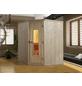 WEKA Sauna »VARBERG 2«, BxTxH: 194 x 198 x 199 cm, ohne Saunaofen-Thumbnail