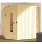 WEKA Sauna »Varberg 3«, BxTxH: 194 x 194 x 199 cm, ohne Saunaofen-Thumbnail