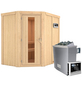 KARIBU Sauna »Vijandi« mit Ofen, externe Steuerung-Thumbnail