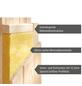 KARIBU Sauna »Vöru«, mit Ofen, externe Steuerung-Thumbnail