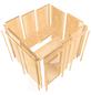 KARIBU Sauna »Vöru«, ohne Ofen-Thumbnail