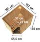 KARIBU Sauna »Wenden« ohne Ofen-Thumbnail