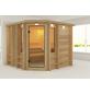 KARIBU Sauna »Windau«, BxTxH: 264 x 253 x 212 cm, ohne Saunaofen-Thumbnail