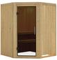 KARIBU Sauna »Wolmar«, für 3 Personen ohne Ofen-Thumbnail