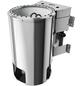 KARIBU Sauna »Wolmar«, inkl. 3.6 kW Plug&Play-Saunaofen mit externer Steuerung für 3 Personen-Thumbnail