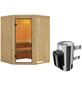 KARIBU Sauna »Wolmar«, mit Ofen, integrierte Steuerung-Thumbnail