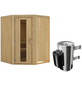 KARIBU Sauna »Wolmar« mit Ofen, integrierte Steuerung-Thumbnail
