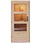 KARIBU Saunahaus, B x T: 337 x 231 cm, mit Ofen, externe Steuerung-Thumbnail