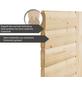 WOODFEELING Saunahaus »Birka 1«, B x T: 231 x 196 cm, mit Ofen, externe Steuerung-Thumbnail