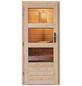 KARIBU Saunahaus »Doblen«, B x T: 196 x 363 cm, mit Ofen, integrierte Steuerung-Thumbnail