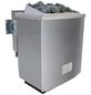 KARIBU Saunahaus »Ludsen«, BxTxH: 231 x 231 x 226 cm, 9 kW Bio-Kombi-Ofen mit ext. Steuerung-Thumbnail