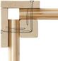 WOODFEELING Saunahaus »Niska«, BxTxH: 426 x 276 x 238 cm, 9 kW Bio-Kombi-Ofen mit ext. Steuerung-Thumbnail