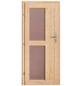 KARIBU Saunahaus »Schwanenburg 3«, B x T: 393 x 231 cm, ohne Ofen-Thumbnail