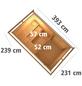 KARIBU Saunahaus »Schwanenburg 3«, BxTxH: 393 x 231 x 239 cm, 9 kW Bio-Kombi-Ofen mit ext. Steuerung-Thumbnail