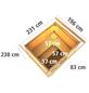 KARIBU Saunahaus »Segewold«, BxTxH: 231 x 196 x 238 cm, 9 kW Bio-Kombi-Ofen mit ext. Steuerung-Thumbnail