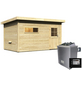 WOODFEELING Saunahaus »Suva 3«, BxTxH: 393 x 231 x 239 cm, 9 kW Ofen mit ext. Steuerung-Thumbnail