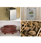 WEKA Saunaofen-Set »OS« inkl. externer Steuerung, 7,5 kW-Thumbnail