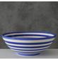 Schale, Stein, blau/weiß-Thumbnail