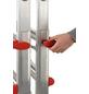HAILO Schiebeleiter »MTL«, 12 Sprossen, Aluminium-Thumbnail