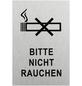 """SEILFLECHTER Schild, """"Bitte nicht rauchen"""", BxH: 15 x 10 cm-Thumbnail"""