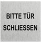 """SEILFLECHTER Schild, """"Bitte Tür schließen"""", BxH: 6 x 6 cm-Thumbnail"""