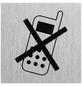 """SEILFLECHTER Schild, """"Handy ausschalten"""", BxH: 6 x 6 cm-Thumbnail"""