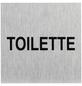 """SEILFLECHTER Schild, """"Toilette"""", BxH: 6 x 6 cm-Thumbnail"""