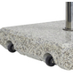 CASAYA Schirmständer »GARDEN LIVING«, Edelstahl/Granit, BxHxL: 45,5 x 10 x 45,5 cm-Thumbnail