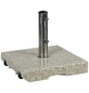CASAYA Schirmständer »GARDEN LIVING«, Edelstahl/Granit, BxHxL: 45,5 x 8 x 45,5 cm-Thumbnail