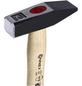 CONNEX Schlosserhammer, 0,5 kg, Metall/Hickoryholz-Thumbnail