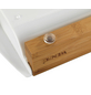 WENKO Schneidebrett Bina Küchenbrett, Schneidebrett mit 2 ausziehbaren Auffangschalen/Tabletts, Bina-Thumbnail