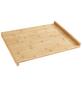 WENKO Schneidebrett mit Anlegekante Küchenbrett mit Anlegeleiste, mit Anlegekante-Thumbnail